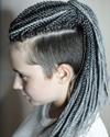 Сенегальские косы на андеркат
